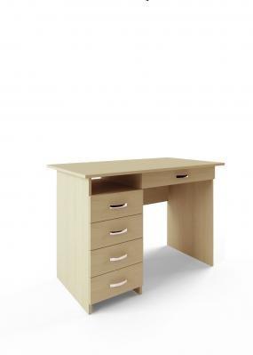 Компьютерный стол Милан-1 с надставкой -7