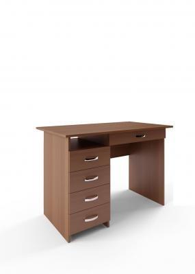 Компьютерный стол Милан-1 с надставкой -5
