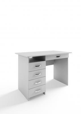 Компьютерный стол Милан-1 с надставкой -9