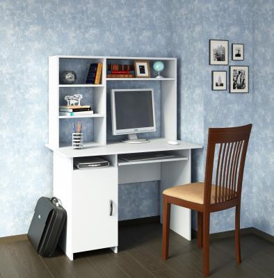 Компьютерный стол Милан-8 с надставкой-1