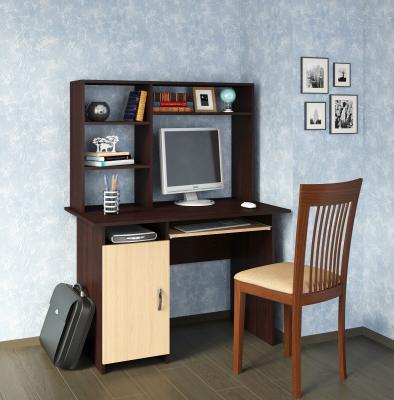 Компьютерный стол Милан-8 с надставкой-2