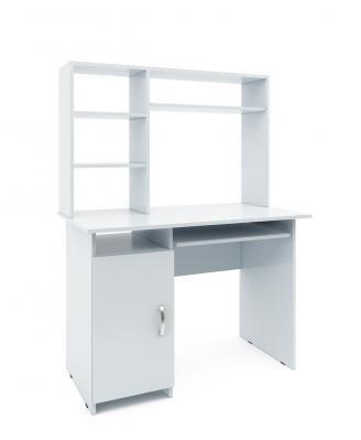 Компьютерный стол Милан-8 с надставкой-10