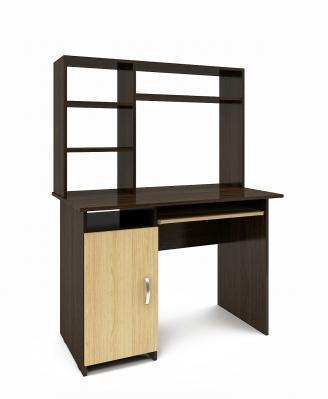 Компьютерный стол Милан-8 с надставкой-9