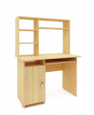 Компьютерный стол Милан-8 с надставкой-8