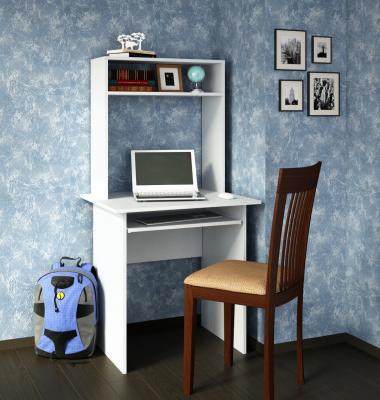 Компьютерный стол Милан-2 с надставкой -1