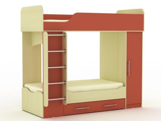 Двухъярусная кровать Дуэт-2-6