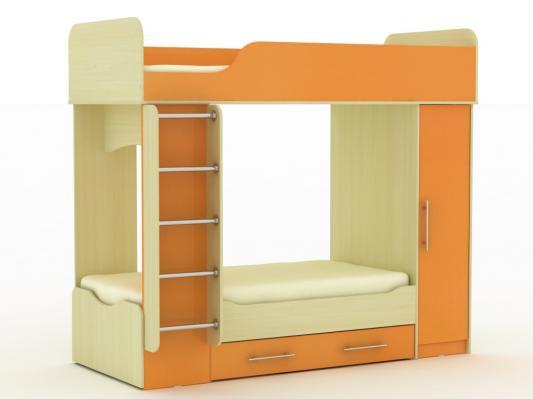 Двухъярусная кровать Дуэт-2-8