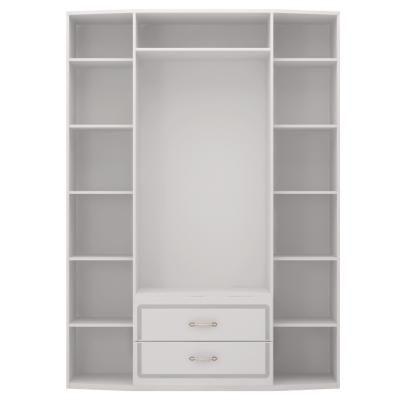 Шкаф для одежды 4-х дверный с ящиками (с зеркалами) Виктория 02-2