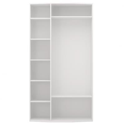 Шкаф для одежды 3-х дверный (с зеркалом) Виктория 09-2