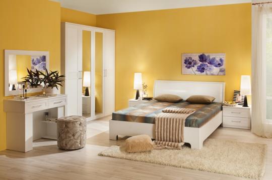 Спальня Капри (с декором экокожа)-2