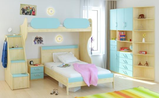 Детская комната Teen`s Home вариант №2-1