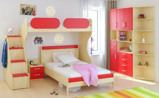 Детская комната Teen`s Home вариант №2-2