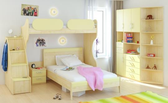 Детская комната Teen`s Home вариант №2-3