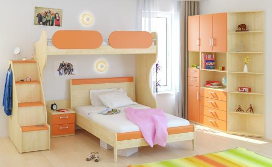 Детская комната Teen`s Home вариант №2-4