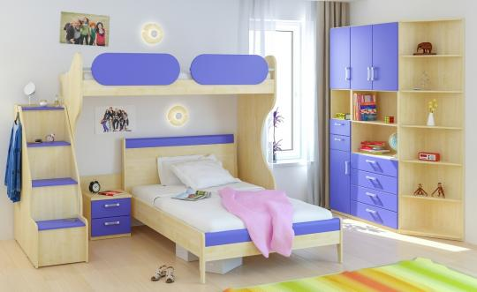 Детская комната Teen`s Home вариант №2-5