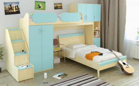 Детская комната Teen`s Home вариант №5-1