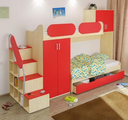 Детская комната Teen`s Home вариант №7-2
