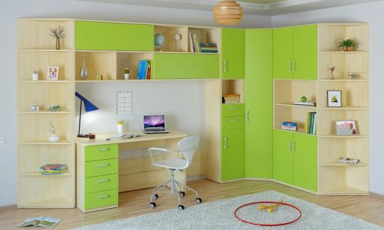 Подростковая комната Teen`s Home вариант №9-1