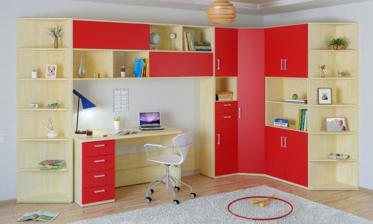 Подростковая комната Teen`s Home вариант №9-2