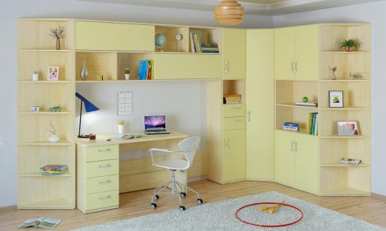 Подростковая комната Teen`s Home вариант №9-3