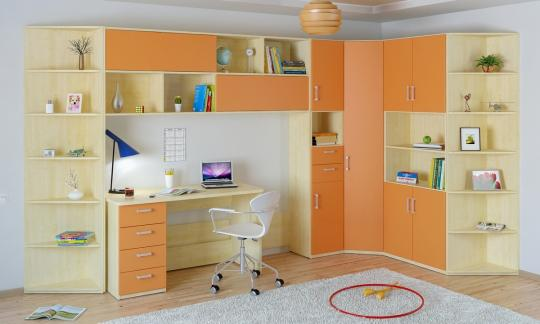 Подростковая комната Teen`s Home вариант №9-4
