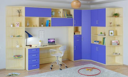 Подростковая комната Teen`s Home вариант №9-5