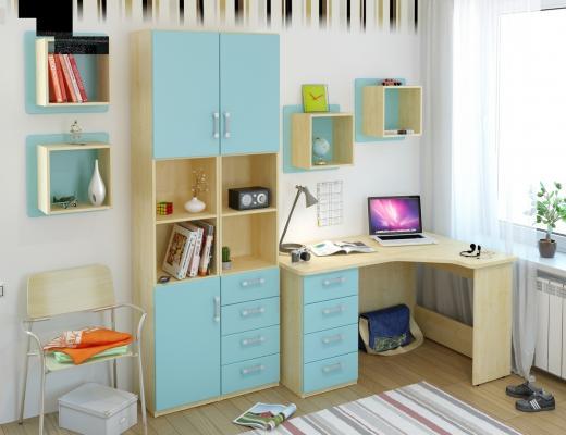 Подростковая комната Teen`s Home вариант №10-1