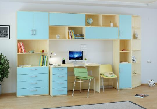 Подростковая комната Teen`s Home вариант №11-1