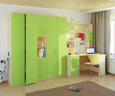 Подростковая комната Teen`s Home вариант №12-2