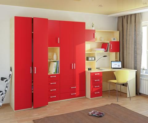 Подростковая комната Teen`s Home вариант №12-3