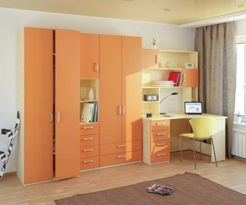 Подростковая комната Teen`s Home вариант №12-5