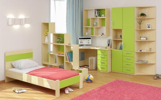 Подростковая комната Teen`s Home вариант №16-2