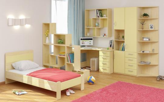 Подростковая комната Teen`s Home вариант №16-4