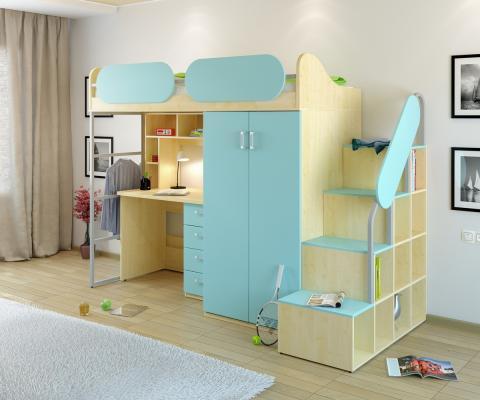Детская комната Teen`s Home вариант №17-1