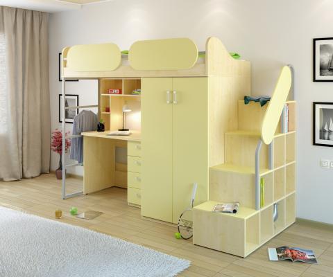 Детская комната Teen`s Home вариант №17-3