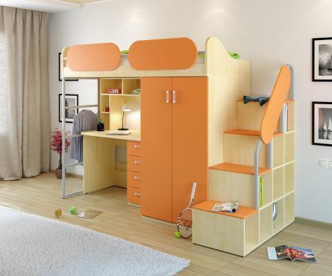 Детская комната Teen`s Home вариант №17-4