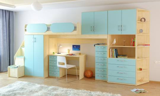Подростковая комната Teen`s Home вариант №18-1