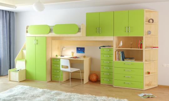 Подростковая комната Teen`s Home вариант №18-2