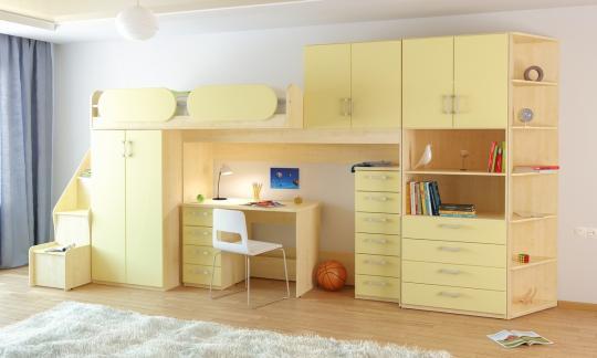 Подростковая комната Teen`s Home вариант №18-4