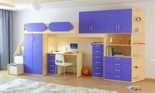 Подростковая комната Teen`s Home вариант №18-5