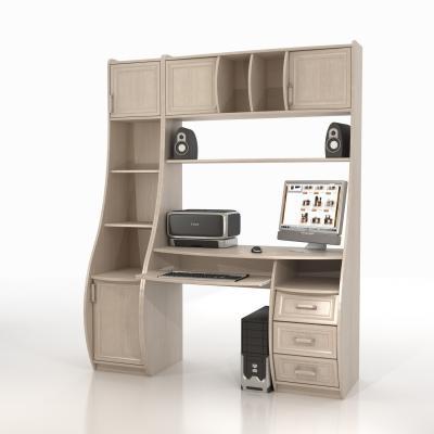 Компьютерный стол КС-1К Беркут со стеллажами-2