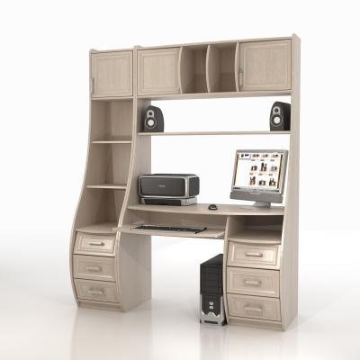 Компьютерный стол КС-1К Беркут со стеллажами-3