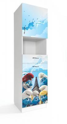 Детская комната Смурфики-4
