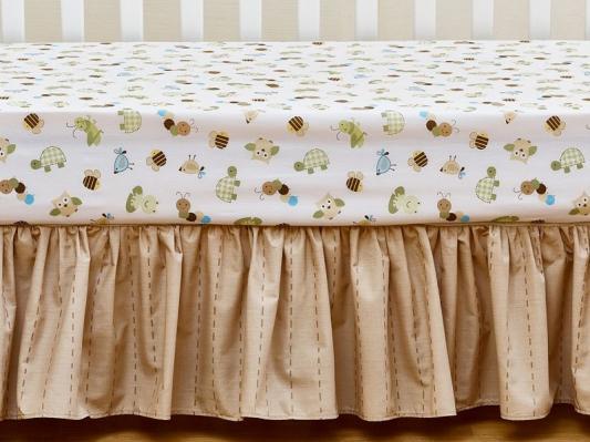 Комплект FROGGY FRIENDS (для кроватей 120*60) 7 предметов-2