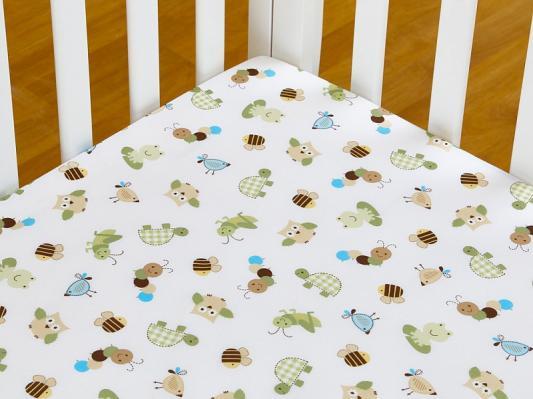 Комплект FROGGY FRIENDS (для кроватей 120*60) 7 предметов-4