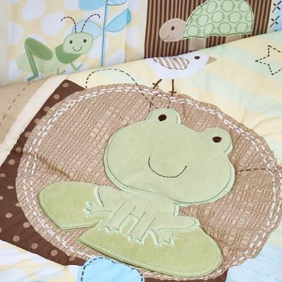Комплект FROGGY FRIENDS (для кроватей 120*60) 7 предметов-7
