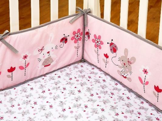 Комплект BONNY BUNNY (для кроватей 120*60) 7 предметов -5
