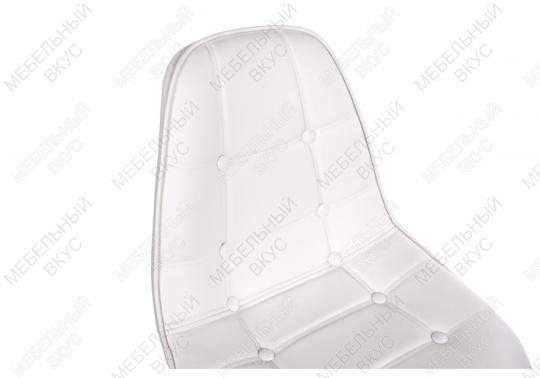 Стул PC-306 на колесах белый-1