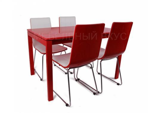 Стол LMT-102 красный лак-2