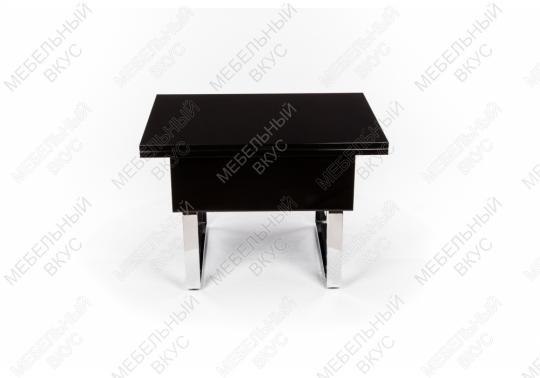 Стол-трансформер B2218 черный лак-2